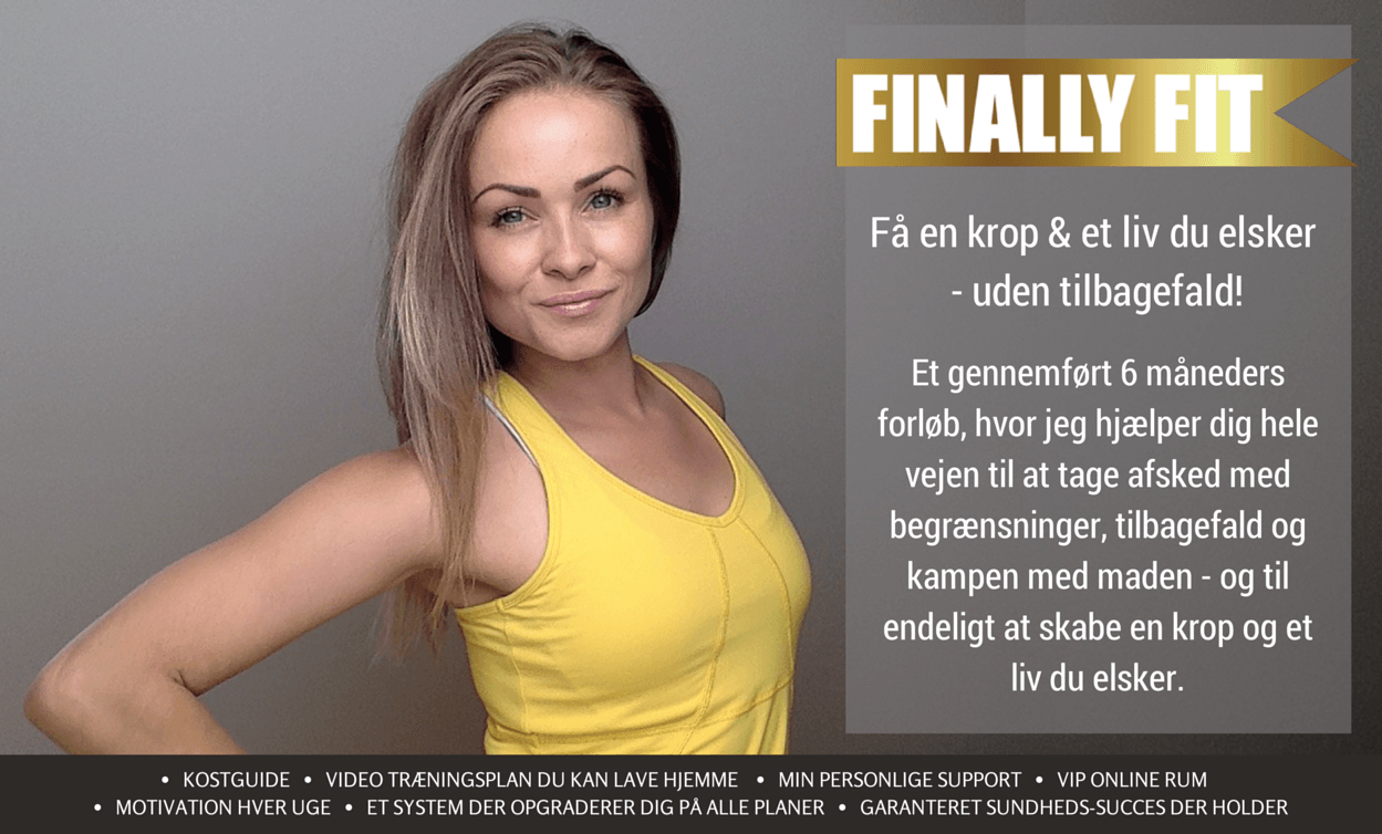 Finally Fit online forløb