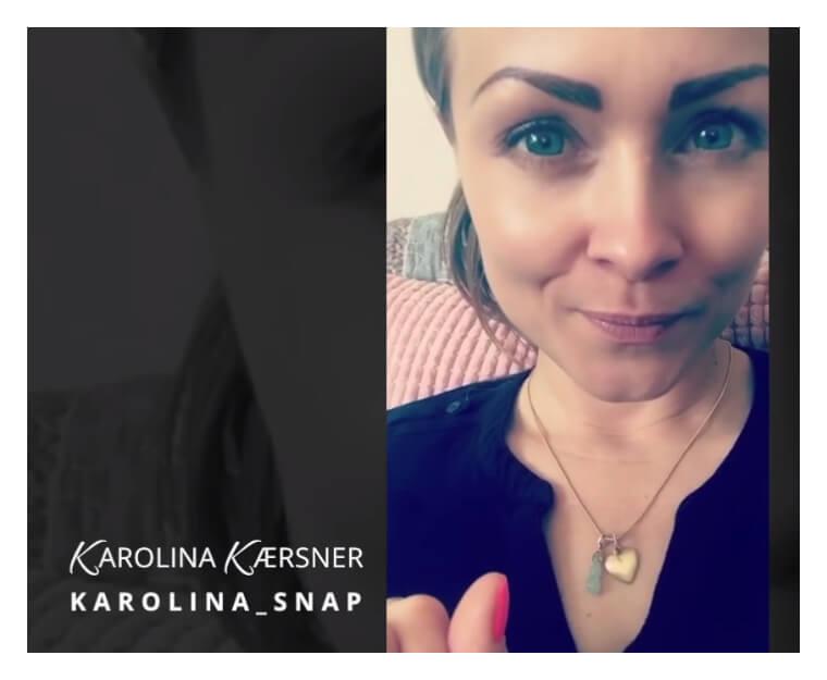 Han er ikke interesseret - SnapChat | KarolinaKærsner.dk