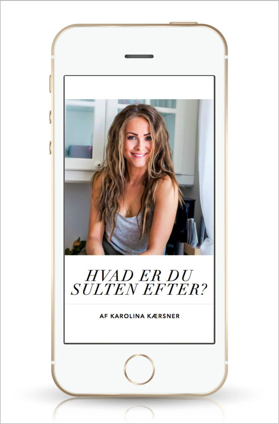 Overspisning: Hvad er du sulten efter? e bog af Karolina Kærsner