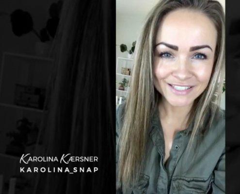 Sundhedscoach Karolina SnapChat