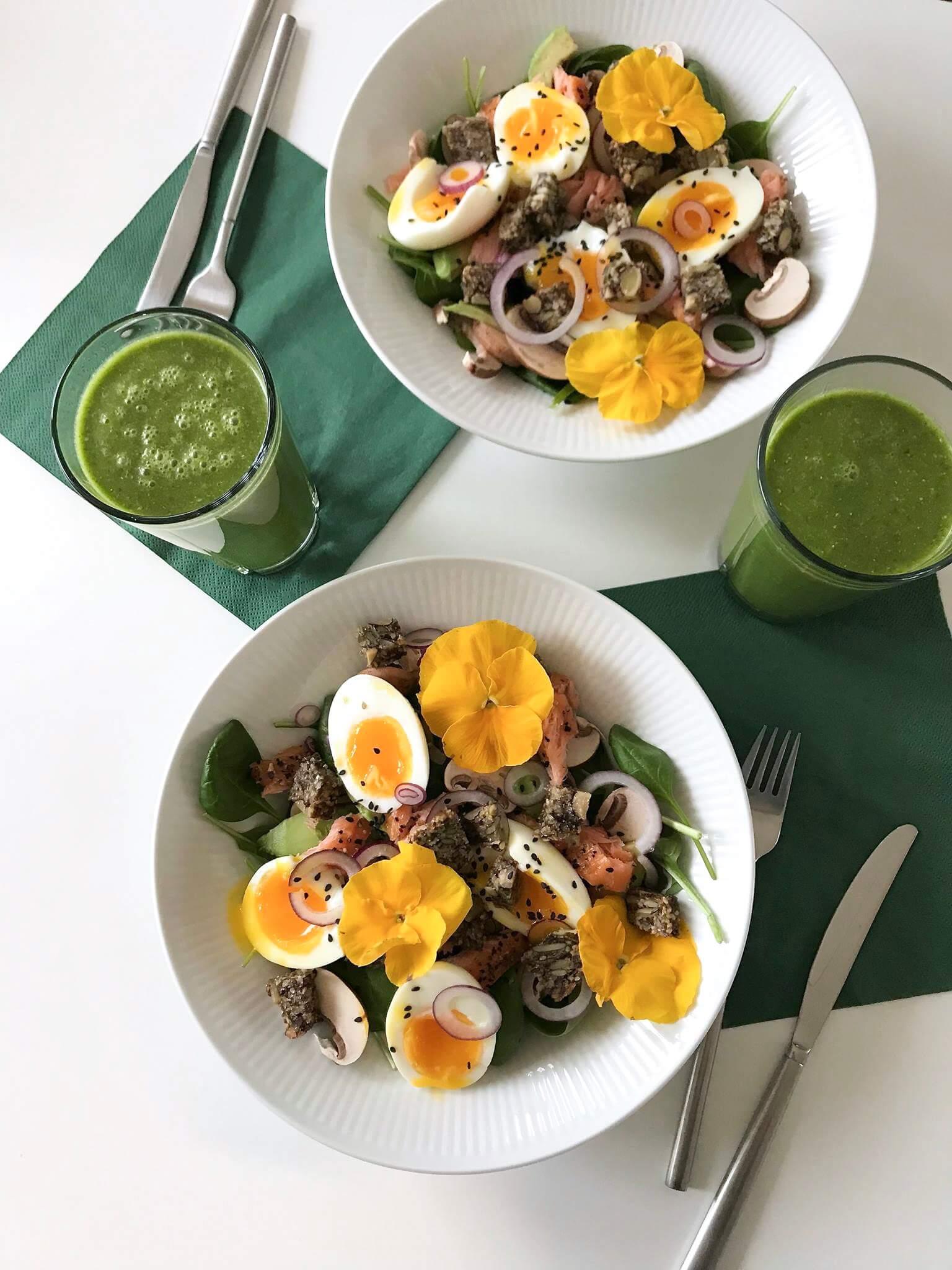 Sund og proteinrig morgenmad