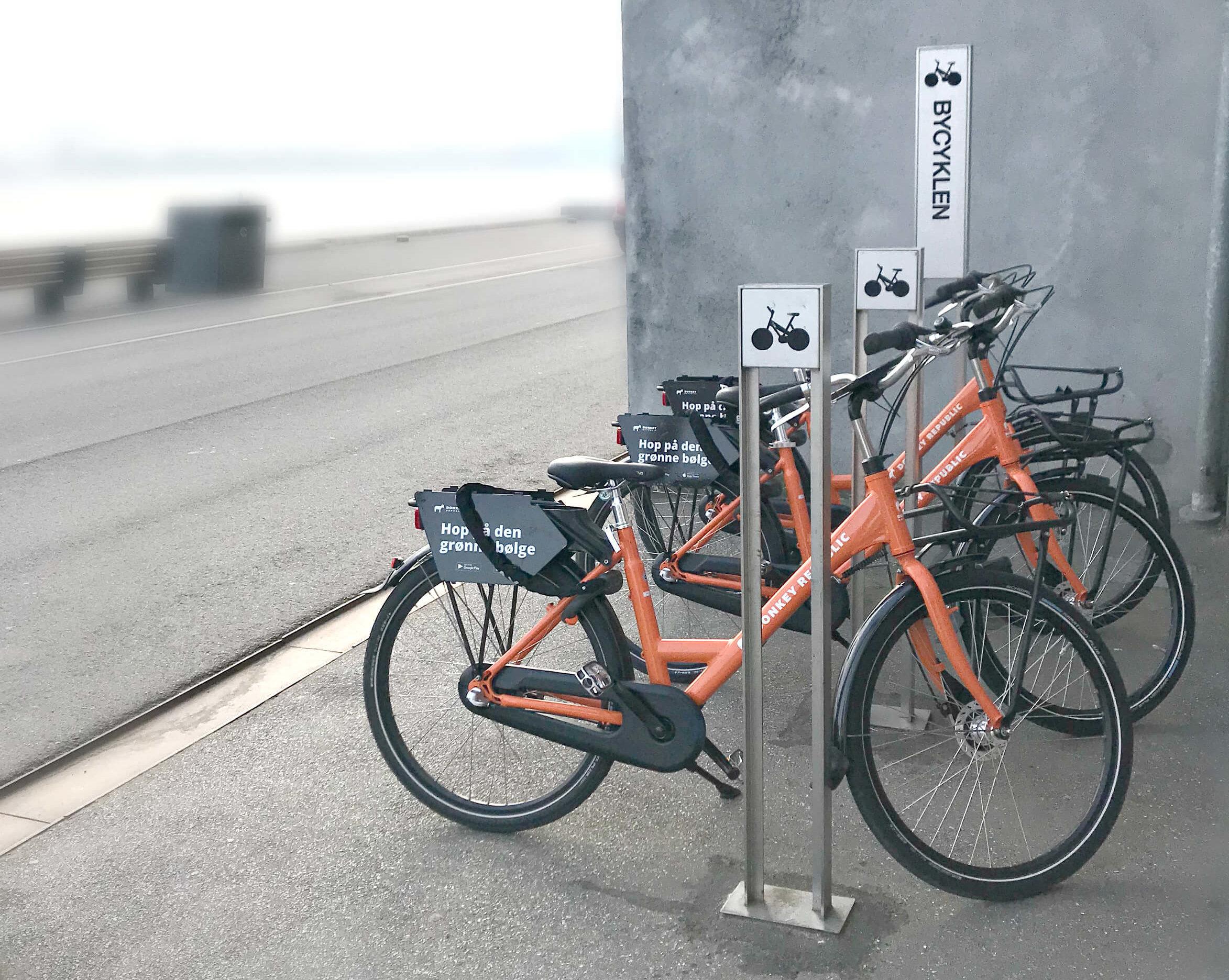 Det her elsker jeg - Donkey Republic city cykler