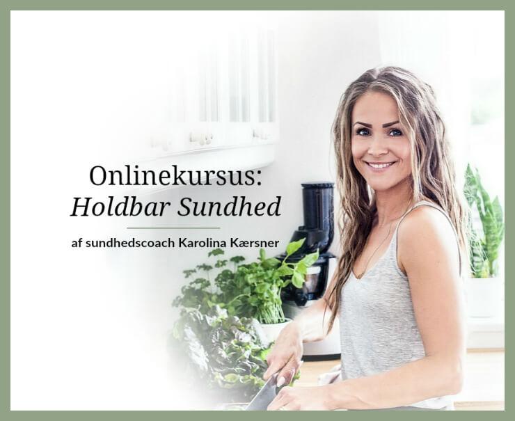 Onlinekursus Holdbar Sundhed af Karolina Kærsner