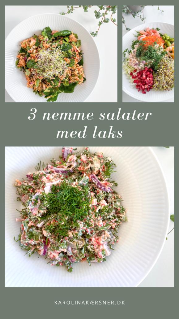 3 nemme salater | Kærlig Kost opskrifter