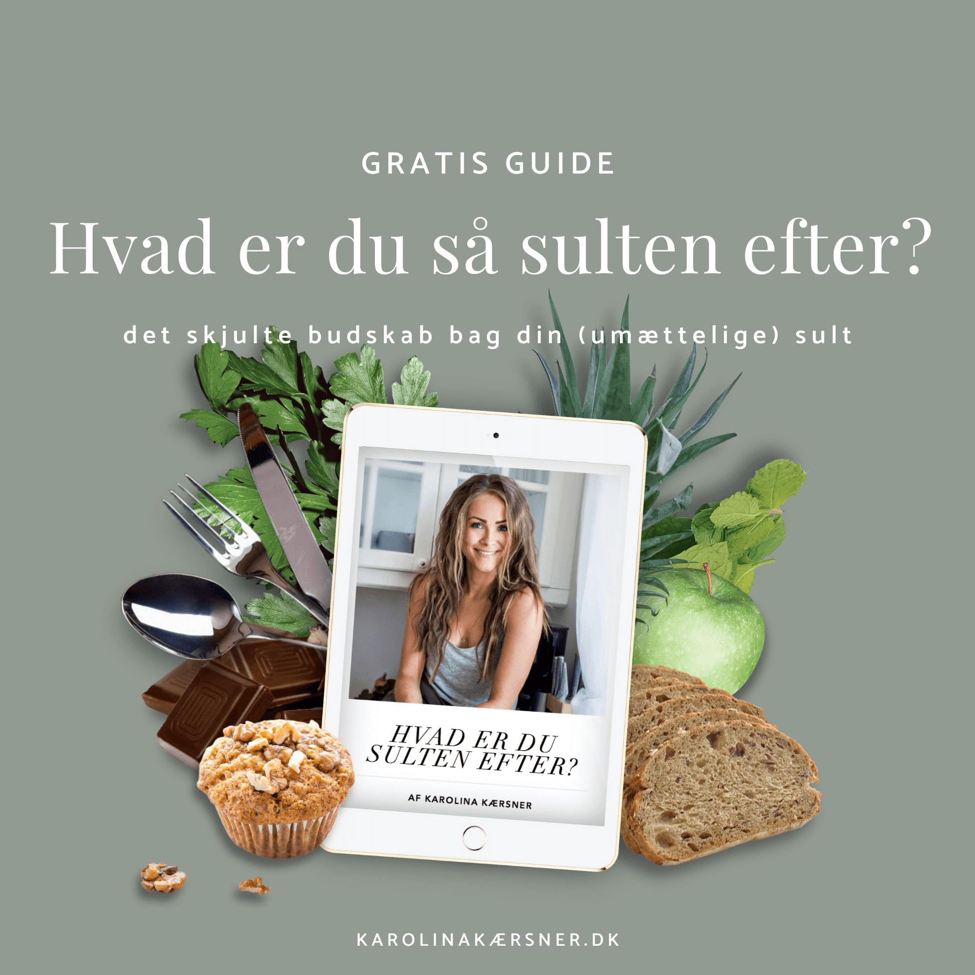 Overspisnings Guide | Karolina Kærsner